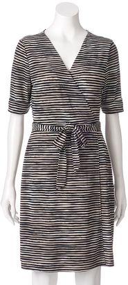 Women's Apt. 9® Faux-Wrap Dress $50 thestylecure.com