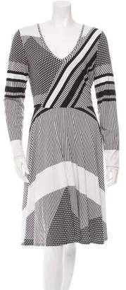 Tracy Reese Printed A-Line Dress w/ Tags $125 thestylecure.com