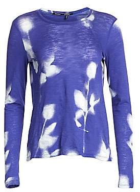 Proenza Schouler Women's Abstract Print Jersey Top