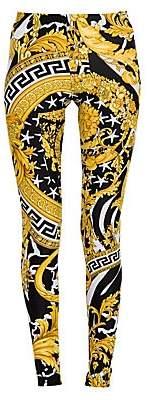 Versace Women's Printed Leggings