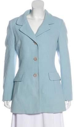 Dolce & Gabbana Notch-Lapel Short Coat