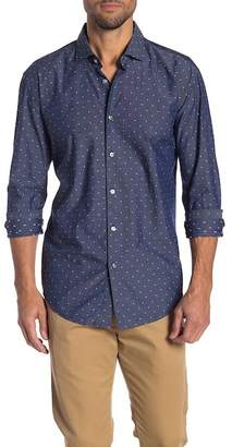 BOSS Ridley Dot Slim Fit Dress Shirt