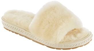 L.L. Bean L.L.Bean Women's Wicked Good Slippers, One Band Slide
