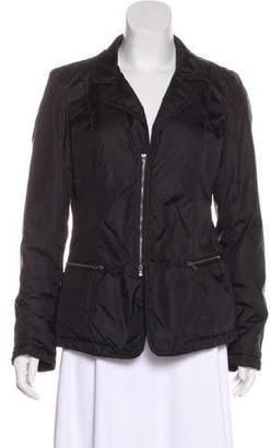Armani Collezioni Zip-Up Puffer Jacket