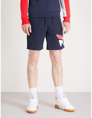 Fila Mindblower Toby logo-print shell shorts