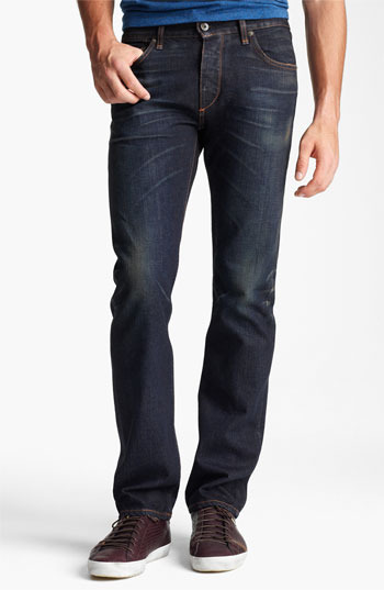 Rag and Bone rag & bone 'RB19X' Slim Straight Leg Jeans (Charing Blue) Charing Blue 29