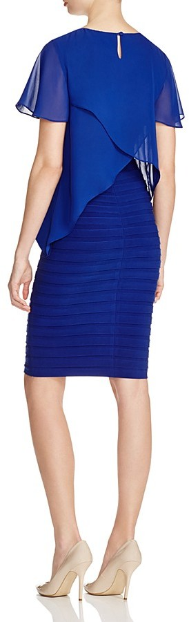 Adrianna Papell Tiered Bodice Dress 2