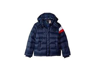 Tommy Hilfiger Adaptive Down Puffer Jacket with Magnetic Buttons (Little Kids/Big Kids)