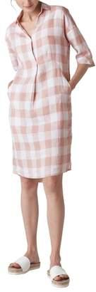 Whistles Lola Gingham Dress