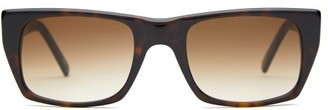 Hudson Andy Wolf Aquare Acetate Sunglasses - Mens - Tortoiseshell