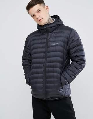 Marmot Tullus Lightweight Down Jacket Hooded in Black
