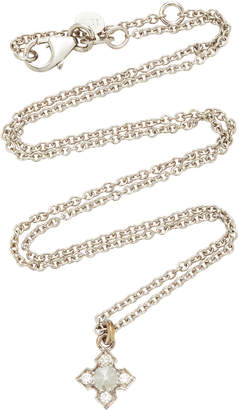 Ila Igafe 14K White Gold Diamond Necklace