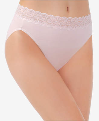 c11b24f77b1c Vanity Fair Flattering Lace Cotton Stretch Hi-Cut Brief 13395, also  available in extended