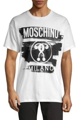 Moschino Graphic Cotton Tee