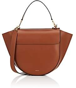 Hortensia Wandler Women's Big Leather Shoulder Bag - Brown