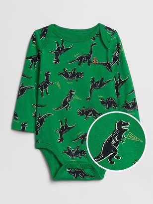 Gap Baby Brannan Bear Print Bodysuit