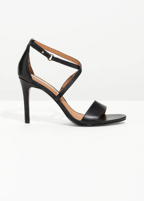 And other stories Criss Cross Heeled Sandals