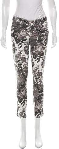 Stella McCartney Stella McCartney Floral Print Skinny Jeans