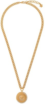 Versace Medusa pendant chain necklace