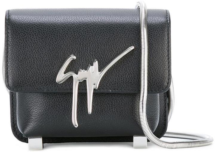 Giuseppe Zanotti Design Signature crossbody bag