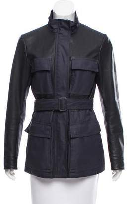 Theory Belted Leather Jacket