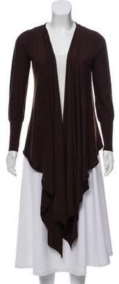 DKNY Merino Wool Wrap Cardigan
