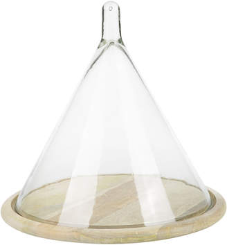Nkuku Recycled Glass Conical Dome
