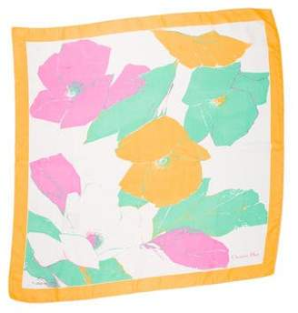 Christian Dior Sheer Square Scarf