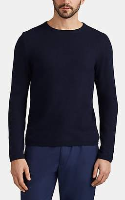 Barneys New York Men's Active Cashmere® Crewneck Sweater - Blue