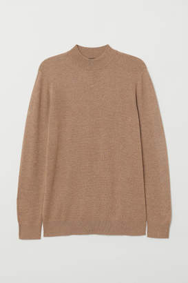 H&M Mock Turtleneck Sweater - Beige