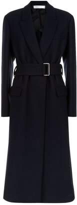 Victoria Beckham Belted Wool Coat