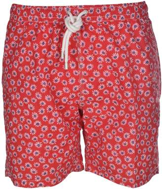 Hartford Floral Print Swim Shorts