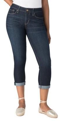 Levi's Women's Simply Stretch Modern Slim Cuffed Capri Jeans