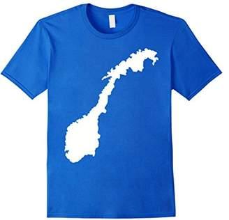 Norway map T-Shirt