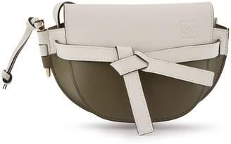 Loewe Mini Gate colour block crossbody bag