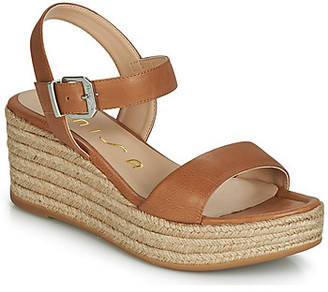 Unisa KALKA women's Sandals in Brown