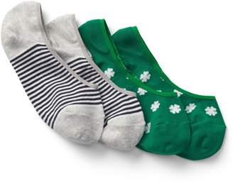 Gap Pattern No-Show Socks (2-Pack)