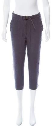 Etoile Isabel Marant Linen High-Rise Pants