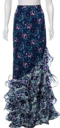 AMUR Maxi Ruffle Skirt