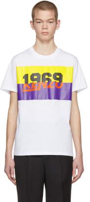 Kenzo White 1969 Logo T-Shirt