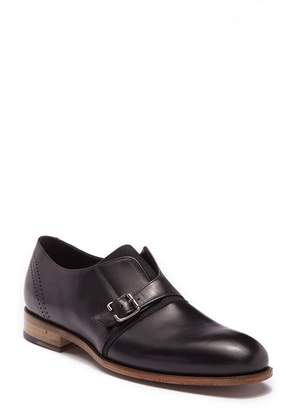 Bacco Bucci Stassi Leather Monk Strap Loafer