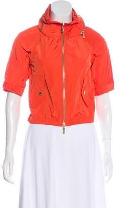 Michael Kors Short Sleeve Lightweight Jacket