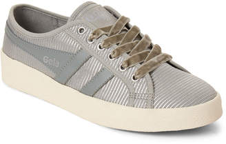 Gola Pale Grey & Silver Grace Radiance Low-Top Sneakers