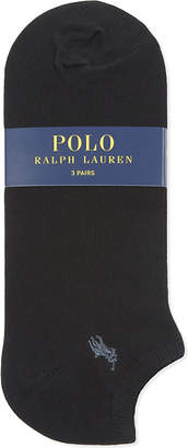 Polo Ralph Lauren Pony trainer socks pack of three