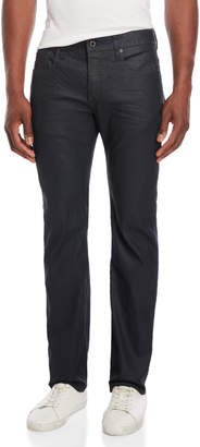 G Star Raw Attacc Coated Straight Jeans