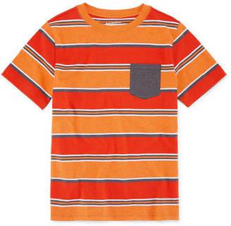Arizona Short Sleeve Stripe T-Shirt Boys 4-20