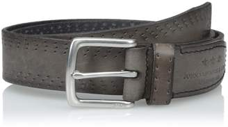 John Varvatos Men's Perf Edge Belt 35Mm