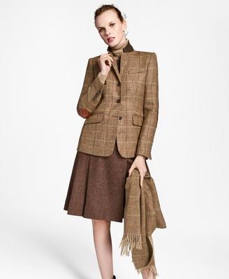 Brooks Brothers Checked Wool Tweed Hacking Jacket