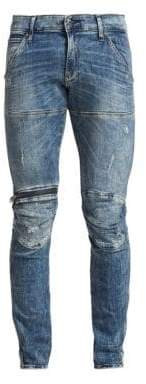 G Star 5620 Zip Knee Super Slim Jeans