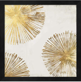 Pi Metaverse Gold Star Ii By Galerie Framed Art